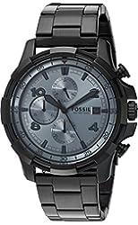 Fossil Men's Quartz Stainless Steel Casual Watch, Color:Black (Model: FS5213)