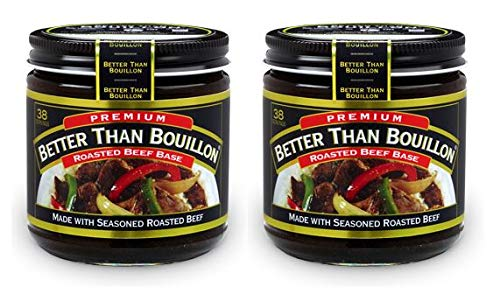Better Than Bouillon Premium Roasted Beef Base, 8 ounces (227 grams) (Pack of 2) ()