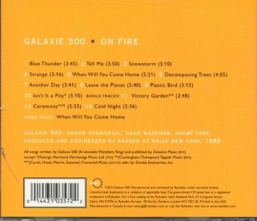 Galaxie 500 On Fire Amazon Music