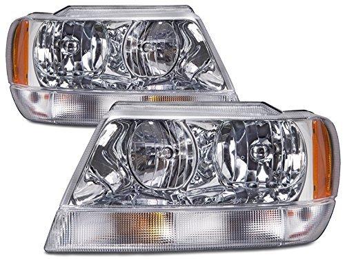 04 jeep cherokee headlights - 2