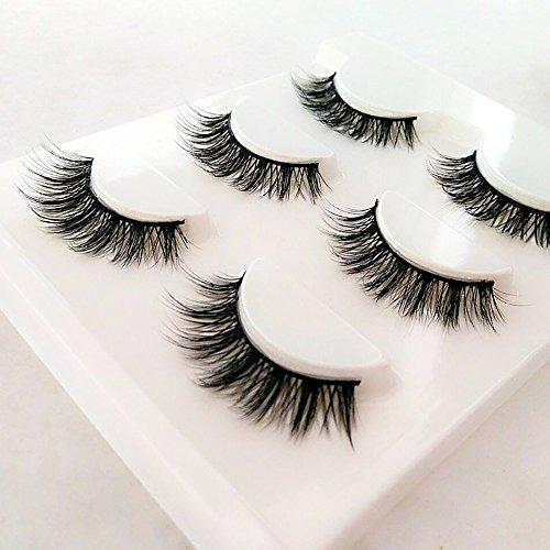 3de81b95b82 False Eyelashes Natural Handmade Fake Lashes 3D Multipack Long Eyelash  Extension Comfortable Mink Soft Eye Lash
