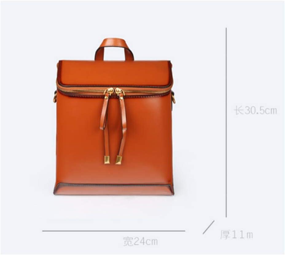 Xingganglengyin 2018 New Backpack Vintage Bag Wild Casual Style Sen Large Capacity Ladies Backpack Color : Pink