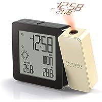 Oregon Scientific - PROJI Réveil Météo à Projection avec température intérieure et extérieure