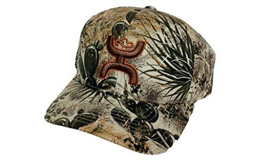HOOey Hat Mens Baseball Cap Gameguard L/XL Camoflauge All Over  GG003