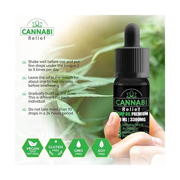 Cannabi Relief 3300mg | Legendary and Authentic | Best from The Netherlands