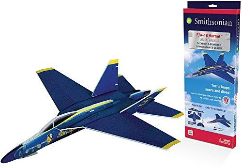 Smithsonian Giant F-18 Blue Angels Glider - Jet Powered Glider