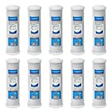 water filter block - Express Water FLTCAR0510C 10