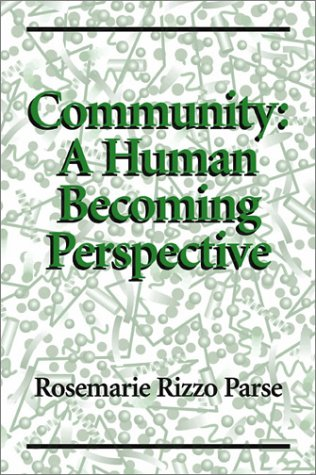 Community: A Human Becoming Perspective by Brand: Jones n Bartlett Learning