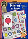 Home Learning Tools, Different or Same (Preschool Learn, Practice and Play Set)