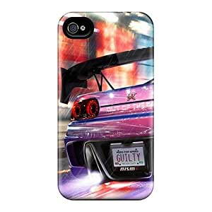 For Iphone 4/4s Tpu Phone Case Cover(need For Speed Nos)