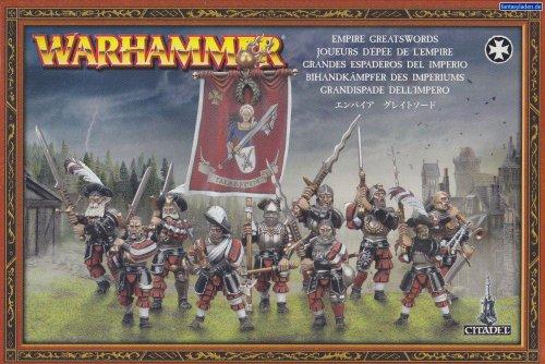 Empire Greatswords Plastic Warhammer Fantasy