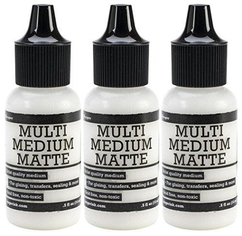 3-Pack - Ranger Multi Medium Bottle, Matte, 0.5-Ounce -