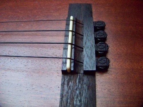 Ukulele Diamond BridgeBeads - Ukulele String Ties