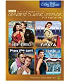 TCM Greatest Classic Films: Legends - Esther Williams Vol. 2 [Million Dollar Mermaid, Thrill of Romance, Fiesta, Pagan Love Song]