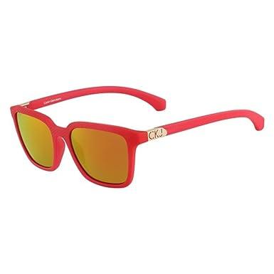 05ba42e0344 Image Unavailable. Image not available for. Colour  Calvin Klein Jeans  CKJ759S-600 CKJ759S Red Sunglasses