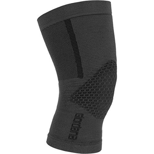 Giordana Heavyweight Knitted Knee Warmers Black, XS/S