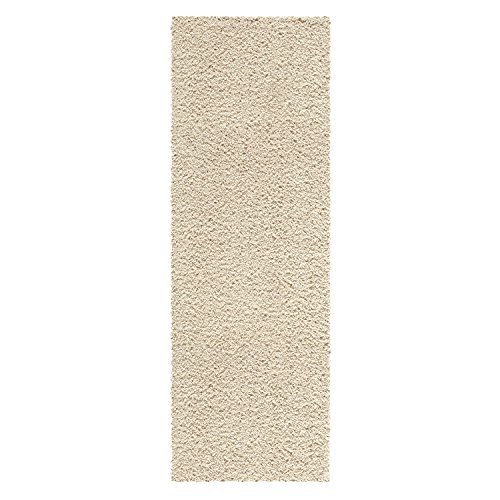 Runner Rug, Maples Rugs [Made in USA][Catriona] 2' x 6' Non Slip Hallway Entry Area Rug for Living Room, Bedroom, and Kitchen - Sand (Rugs Area Liquidation)
