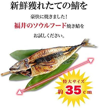 えつすい 福井名物 浜焼き鯖 (冷凍)