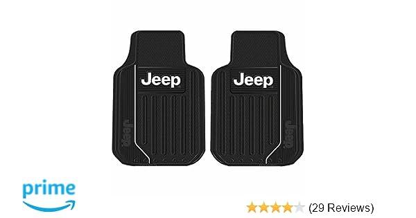 Car & Truck Parts 1 Jeep Elite Style Original Black Heavy Duty Rear Runner Rubber Floor Mat ...