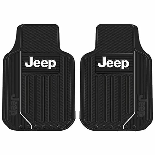 Plasticolor 001469R01 Jeep Black Universal Floor Mat