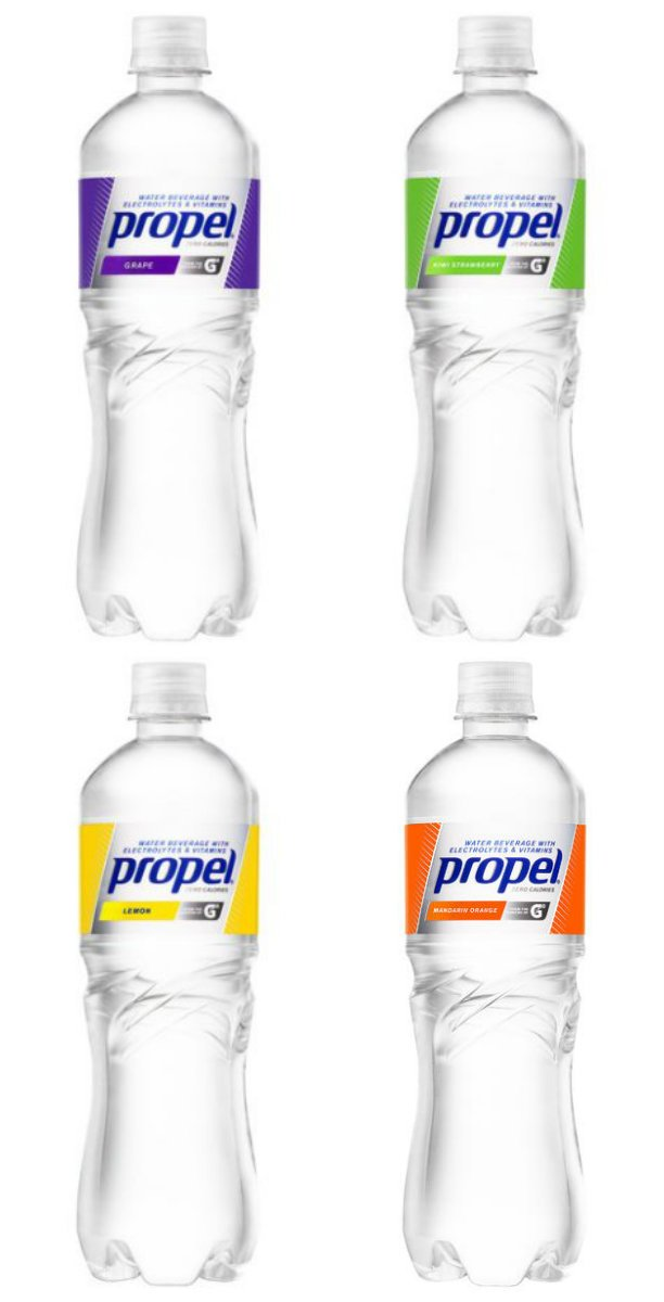 Propel Water Beverage W/ Electrolytes & Vitamins 12 Pack (4 Flavor Variety Pack 2)