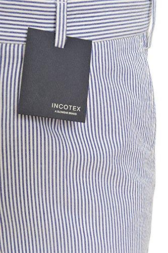 Incotex Pantalon Homme 44 Bleu / Taille normale Coupe droite