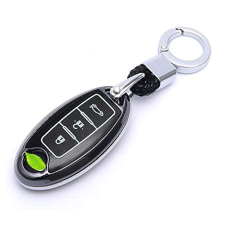 Amazon.com: ontto - Carcasa para mando a distancia de Nissan ...