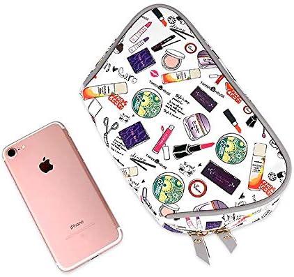 化粧品袋 大小メイクアップバッグ化粧ケーストイレタリーバッグバニティケースで音律主催ストレージポーチ女性の少女 旅行化粧収納ボックス