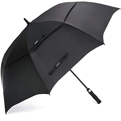 6be0f377c9fca G4Free Golf Umbrella 68 Inch Windproof Double Canopy Vented Extra Large  Oversize Automatic Open Waterproof Stick Umbrellas  Amazon.co.uk  Sports    Outdoors