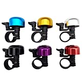 TrendBox 1 Set 6 Colors Alloy Bicycle Bike Cycling Handlebar Bell Ring Horn Sound Emergency Alarm Alert Warning Loud Lightweight For Safety
