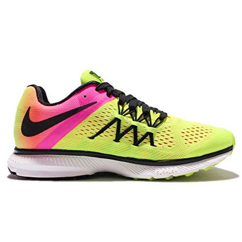 Nike Wmns Zoom Winflo 3 Oc, Zapatillas de Running para Niñas Negro (Negro (multi-color/multi-color))