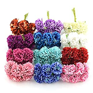 CANTOSI Rose Artificial - 6pcs/lot Silk Artificial Flower Bouquet for Wedding Home Decoration Mariage Accessories Rose Flowers 38