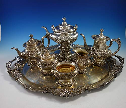 - Francis I by Reed and Barton Sterling Silver Tea Set 7pc (#2913) Magnificent!