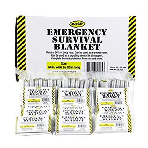 Mayday Emergency Survival Solar Blankets (Bulk Rate)