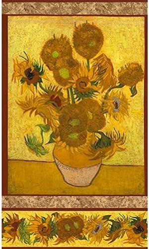 Textiles français 23 + 2 paneles de Vincent van Gogh de Robert ...