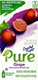 Crystal Light Pure Grape On The Go Drink Mix, 7-Packet Box (50 Box Pack)