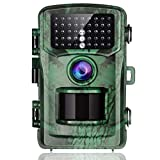 "TOGUARD Trail Camera 14MP 1080P Game Hunting Cameras with Night Vision Waterproof 2.4"" LCD IR LEDs Night Vision Deer Cam Design for Wildlife Monitoring and Home Security"