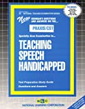 Teaching Speech Handicapped, Rudman, Jack, 0837384362