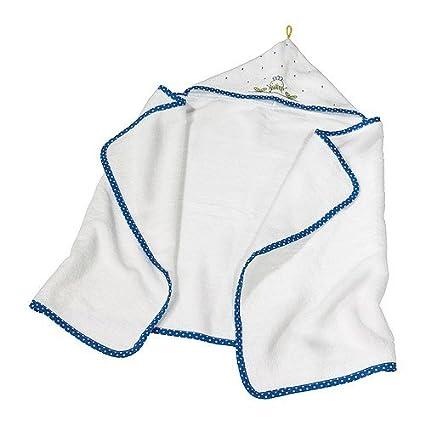 IKEA TORVA - Toalla de bebé con capucha, blanco - 60x125 cm