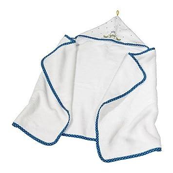 IKEA TORVA - Toalla de bebé con capucha, blanco - 60x125 cm: Amazon.es: Hogar