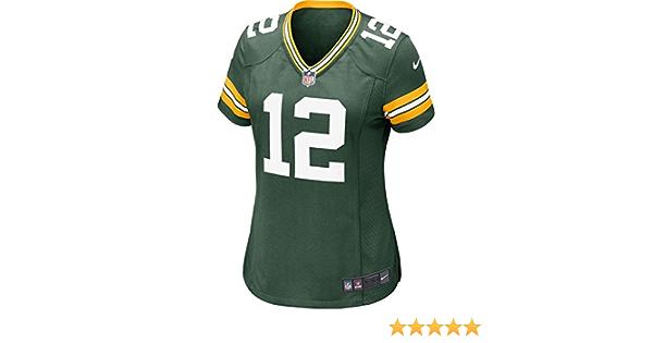 NIKE Green Bay Packers NFL Game Team Jersey Camiseta de Manga ...