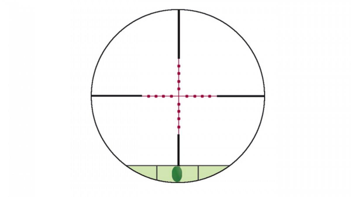 /tiro/ /negro Konuspro M-30/# 7286/ /40/x 52/Optica de mira/ /10/