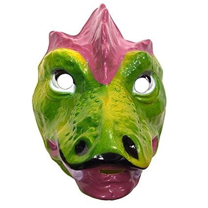 Máscara de dinosaurio de plástico rígido