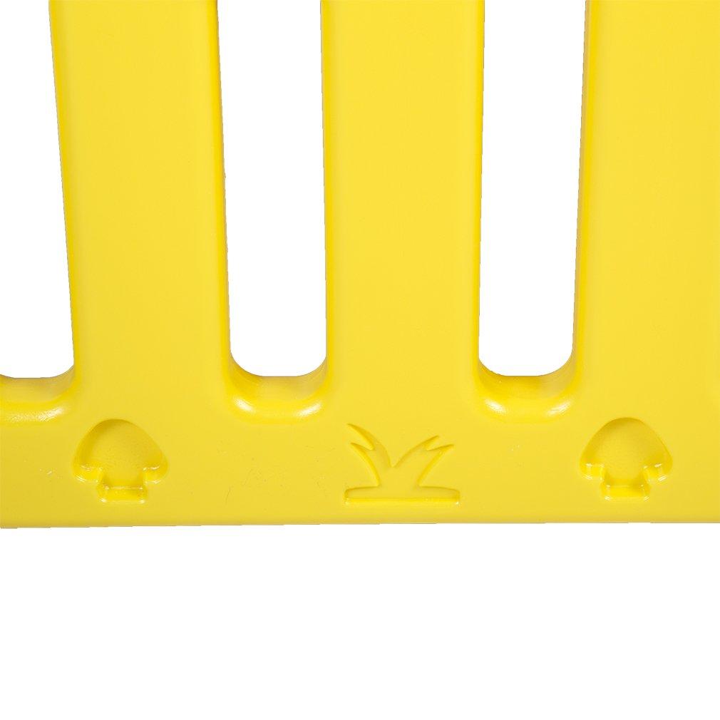 Baby Playpen PlaySafe Activity Center 10 Panel Adjustable Playard Kids w/Lock by FDW (Image #8)