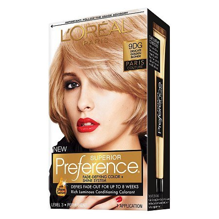 Price comparison product image L'Oréal Paris Preference Paris Couture Haircolor Delicate Golden Blonde (9DG)