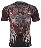 Xtreme Couture AFFLICTION Men T-Shirt BOLD CIPHER