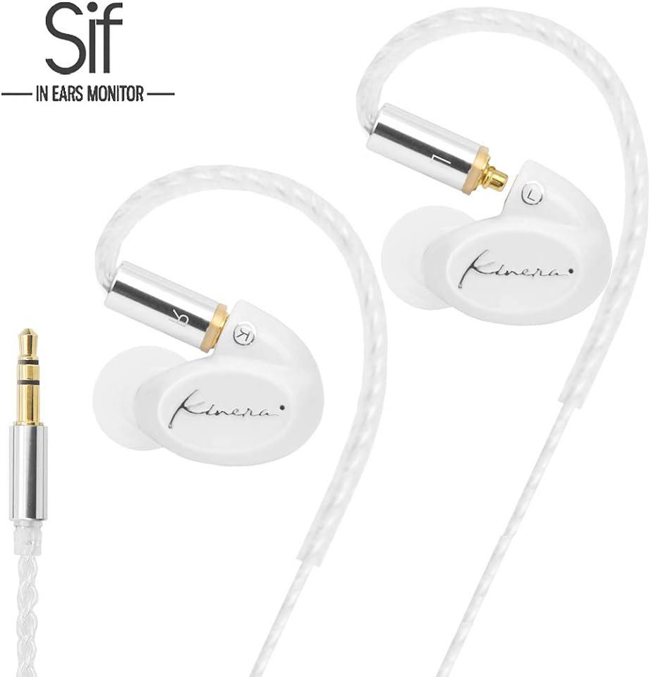 Earbuds Ear buds Earphones Ear Headphones Kinera SIF Single Dynamic in Ear Monitor Hifi Stereo Wired Earbuds In-ear Earphones