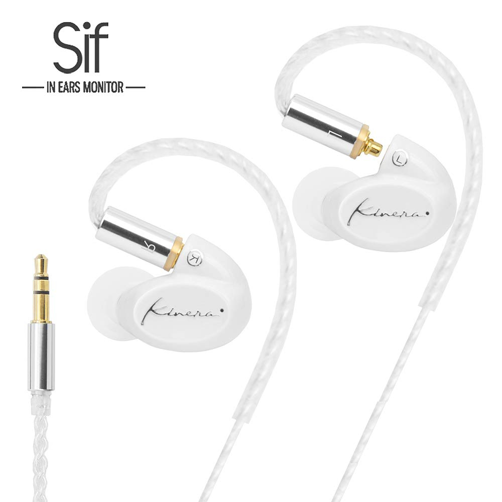Earbuds Ear buds Earphones Ear Headphones Kinera SIF Single Dynamic in Ear Monitor Hifi Stereo Wired Earbuds In-ear Earphones