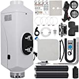 Happybuy 5KW Diesel Air Heater for RV Bus Motorhome Boat Car (12V 5KW Digital Switch Control with Silencer)