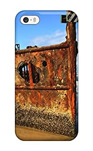 Awesome Case Cover/iphone 5/5s Defender Case Cover(abandoned Rusty Boat)